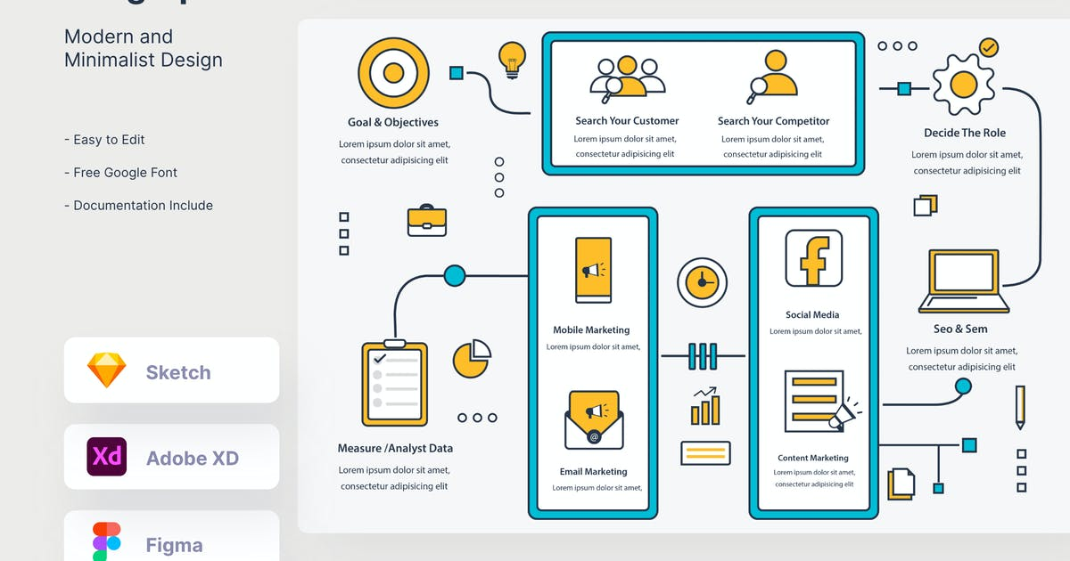 Download Marketing Infographic - myAsset by GranzCreative