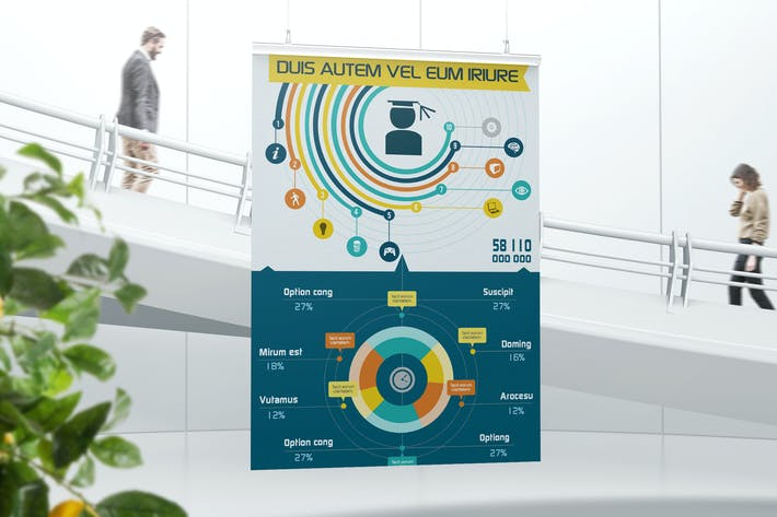 Element Rich Infographics Template