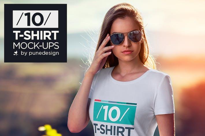 Thumbnail for T-Shirt Mock-Up Vol.2