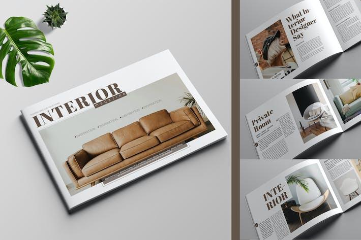 Thumbnail for Interior Magazine Template
