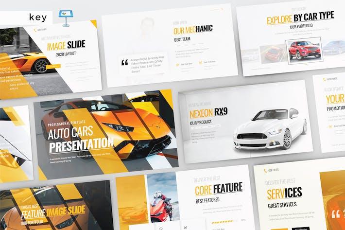 Thumbnail for AUTO CARS - Keynote V313