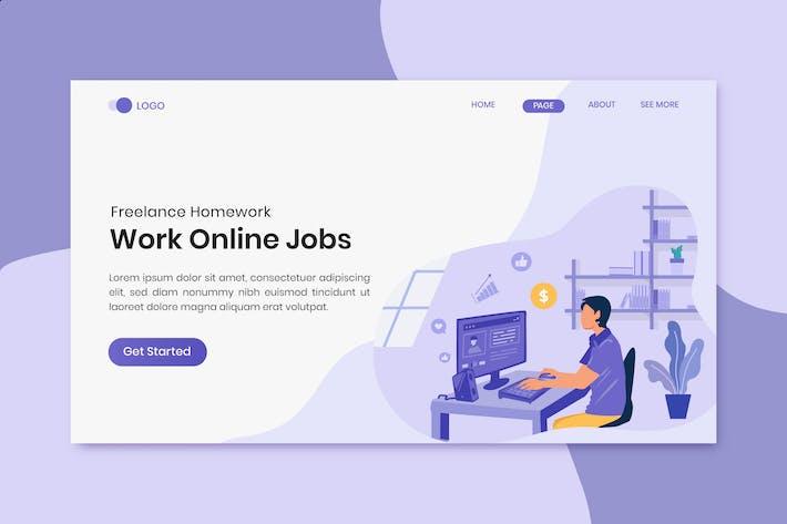 Thumbnail for Travail en ligne Emplois Freelance Homework