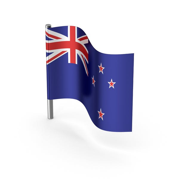 New Zealand Cartoon Flag