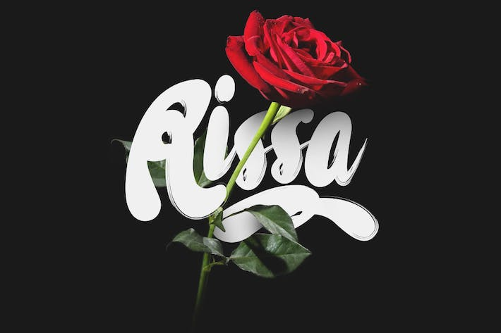 Thumbnail for Rissa Typeface