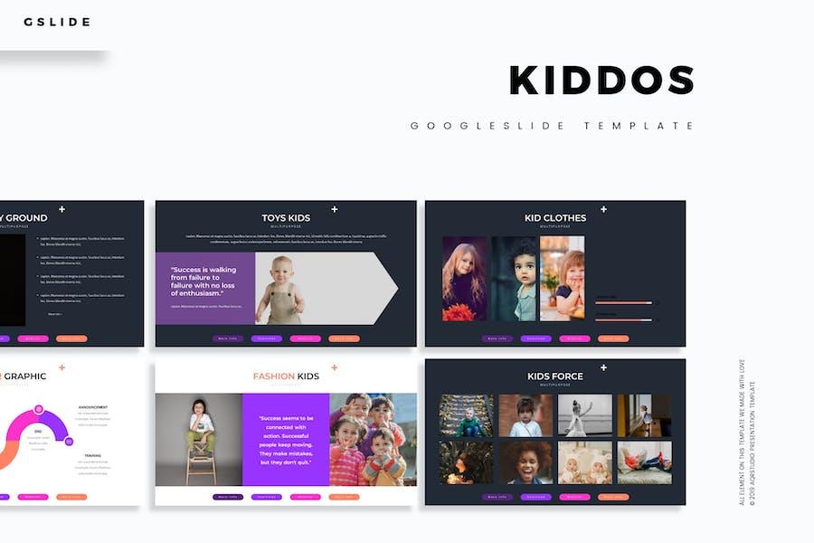Kiddos - Google Slides Template