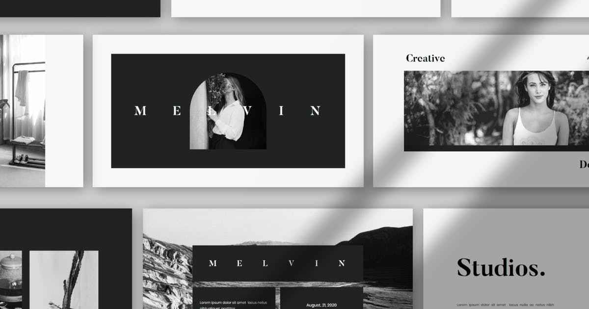 Download Melvin - Keynote by BringMeTheDesign