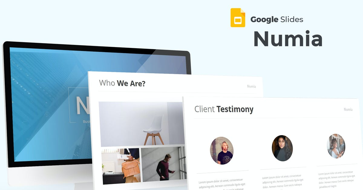 Download Numia - Google Slides Template by aqrstudio