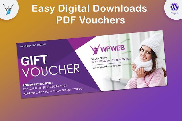 Thumbnail for Easy Digital Downloads - PDF Vouchers