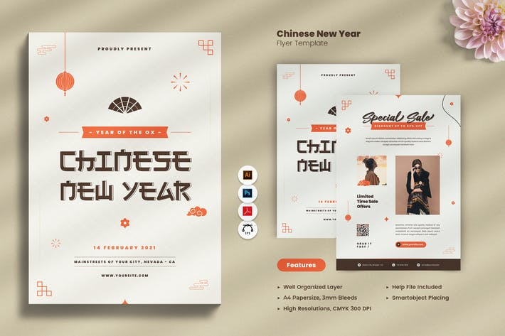 Thumbnail for Chinese New Year 2021 Flyer