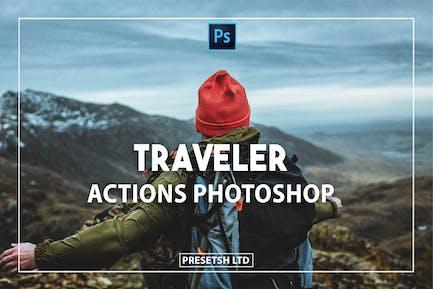 Traveler Photoshop Actions