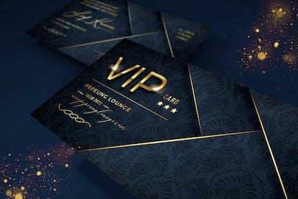 Carte Vip élégante