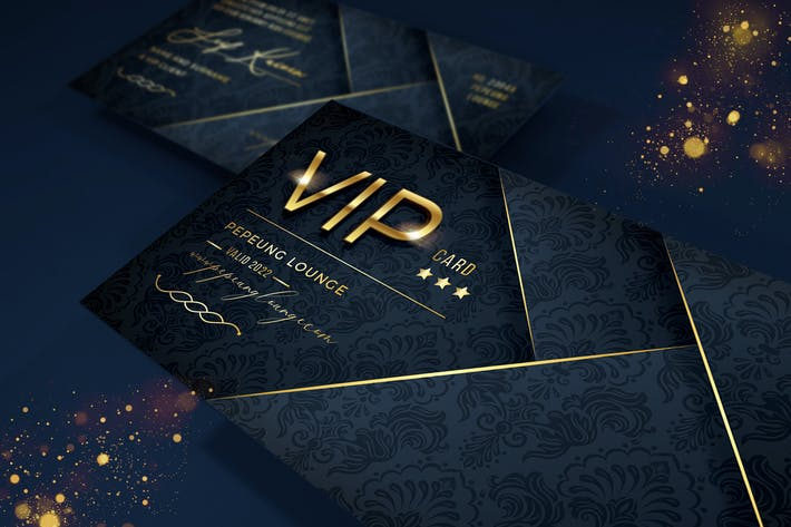 Thumbnail for Elegant Vip Card