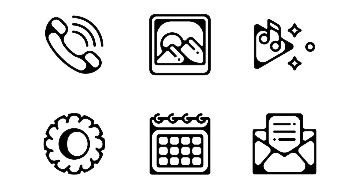 Download Mobile Applications Icons by 3ab2ou