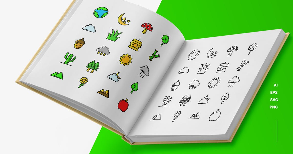 Download Nature - Icons by esensifiksi