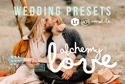 Алхимия любви - свадебные Пресеты для Lightroom и ACR