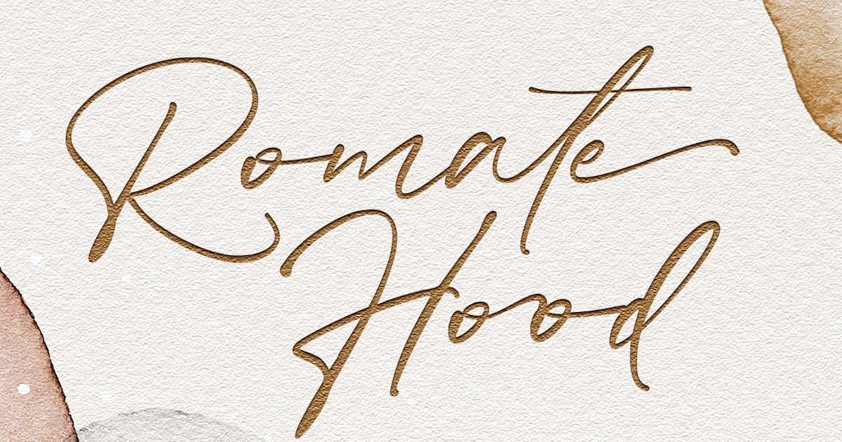 Download Romate Hood by vultype