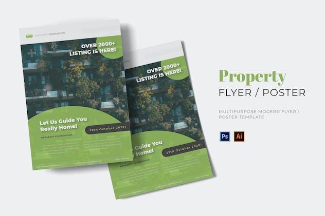 Property Foundation Flyer