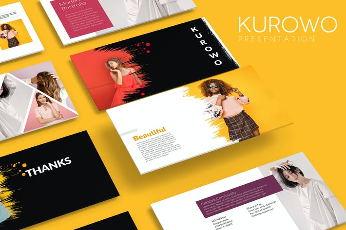 Thumbnail for KUROWO Powerpoint Template