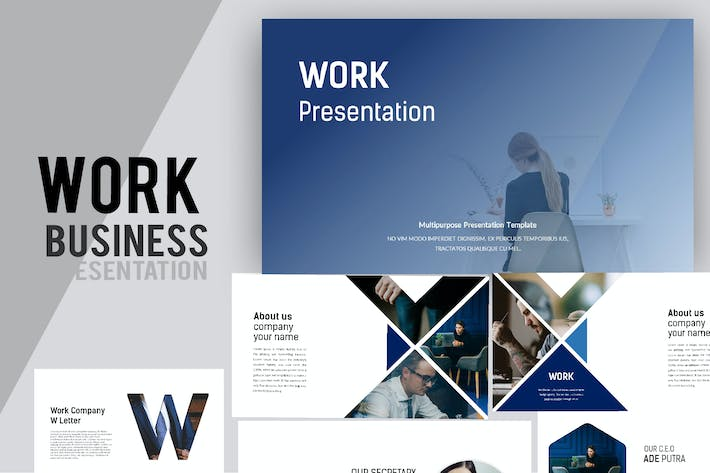 Thumbnail for Work Business Powerpoint