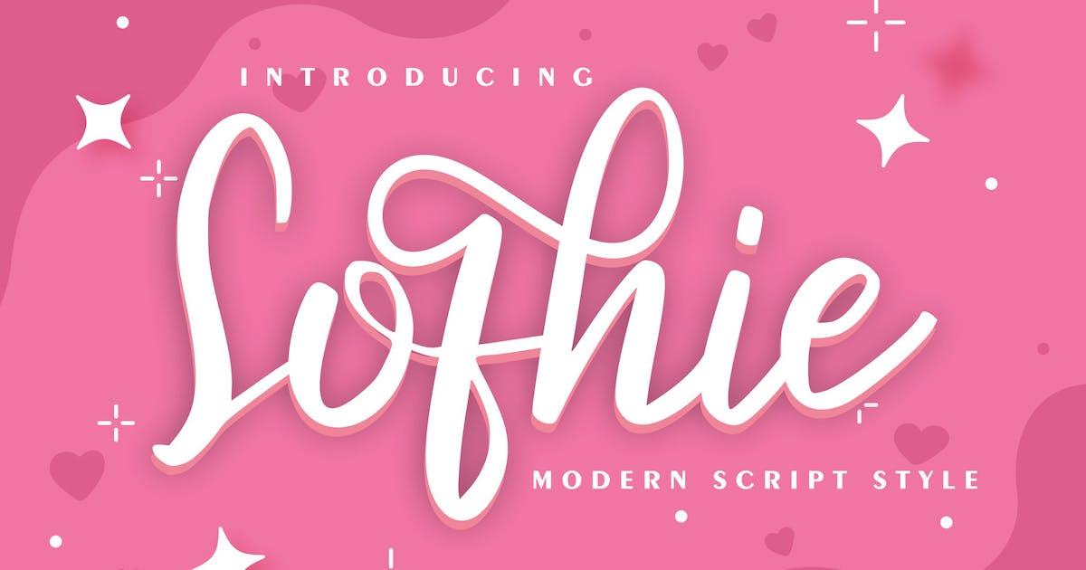 Download Sofhie | Modern Script Style by Vunira