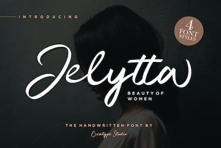 Jelytta Handwritten Wedding Font