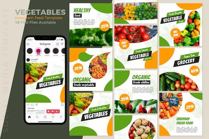Thumbnail for Vegetables Instagram Post