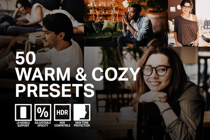 50 Warm & Cozy Lightroom Presets