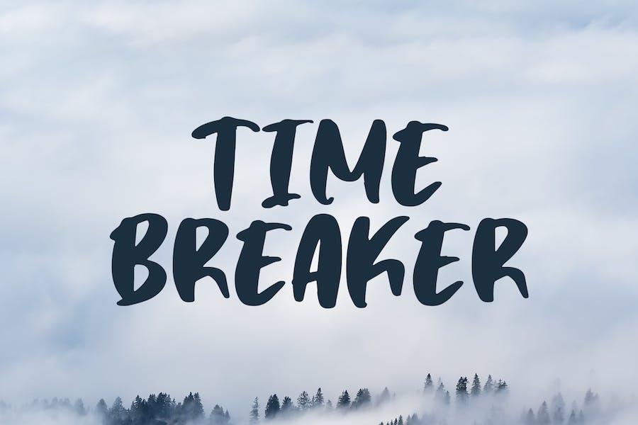 Time Breaker - Bold Matte Brush