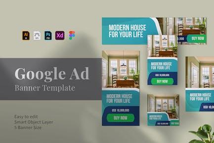 Google-Anzeigen-Banner
