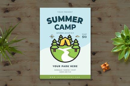 Summer Camp Flyer vol.1