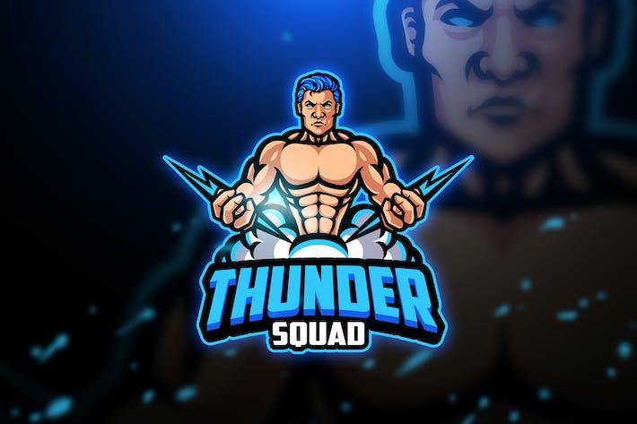 Thumbnail for Thunder - Mascot & Esport Logo