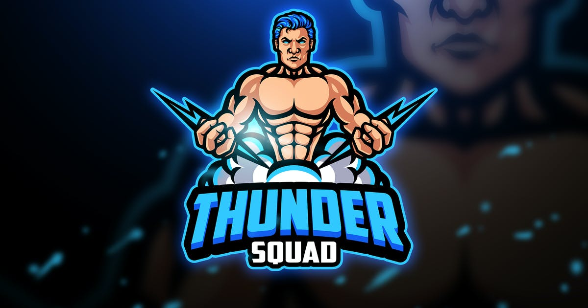 Download Thunder - Mascot & Esport Logo by aqrstudio