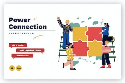 Power Connection Illustration