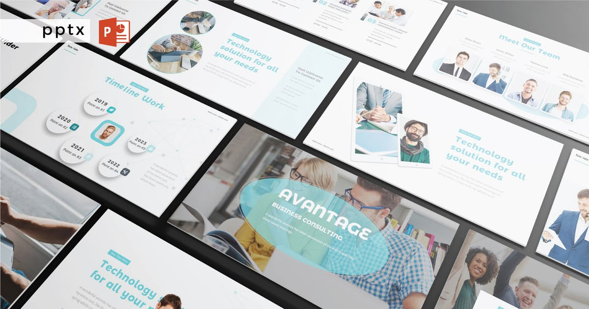 Download AVANTAGE  - Powerpoint  V386 by Shafura