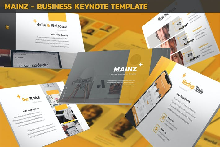 Thumbnail for Mainz - Business Keynote Template