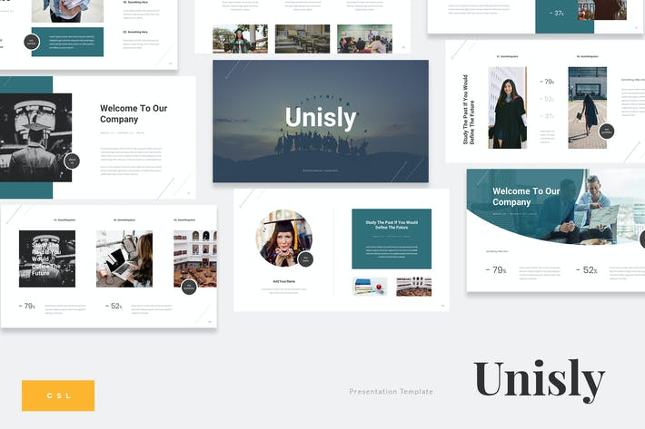 Thumbnail for Unisly - University Education Google Slides