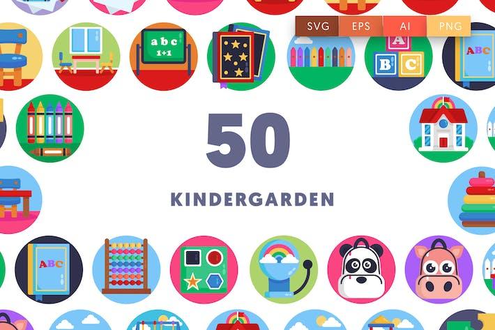 Thumbnail for Kindergarden Icons