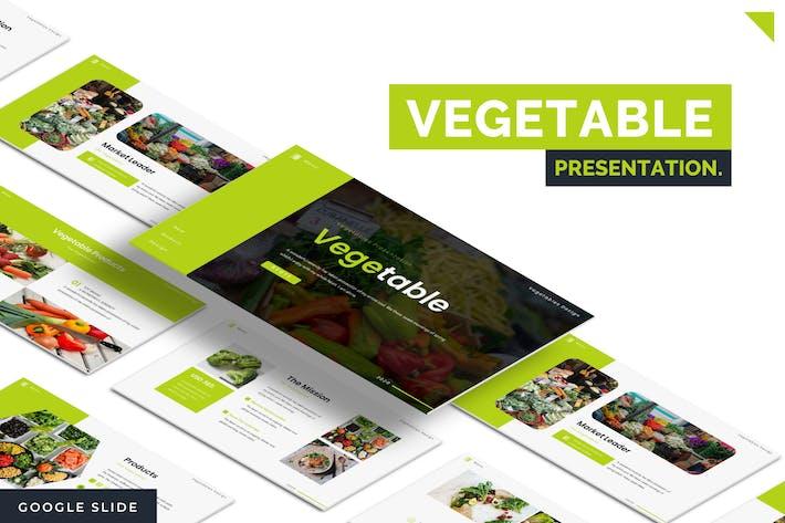 Овощной - Шаблон слайдов Google