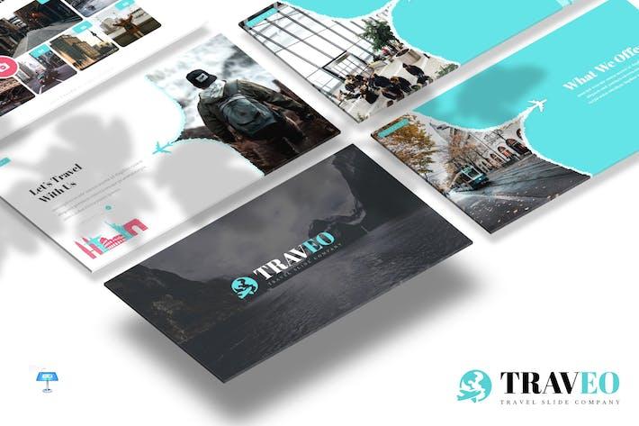 Thumbnail for Traveo - Шаблон Keynote