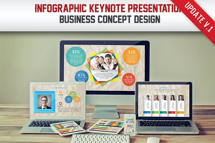 Thumbnail for Infographic Keynote Presentation