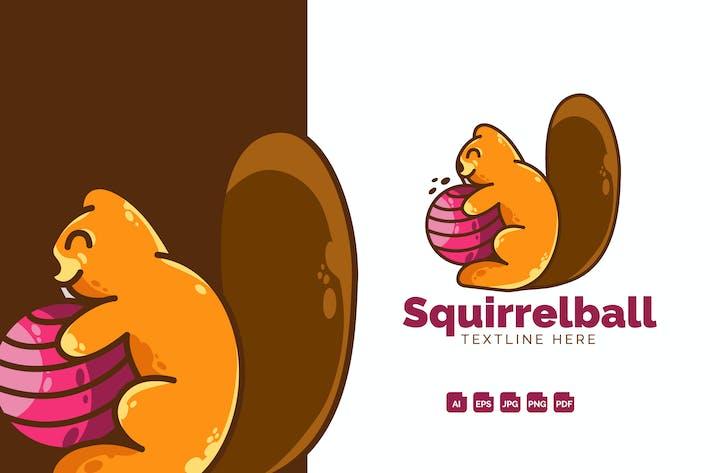Squirrel Modern Logo Design