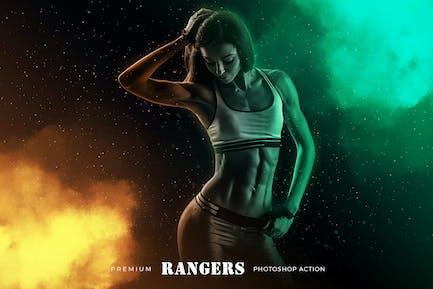 Rangers Photoshop Action
