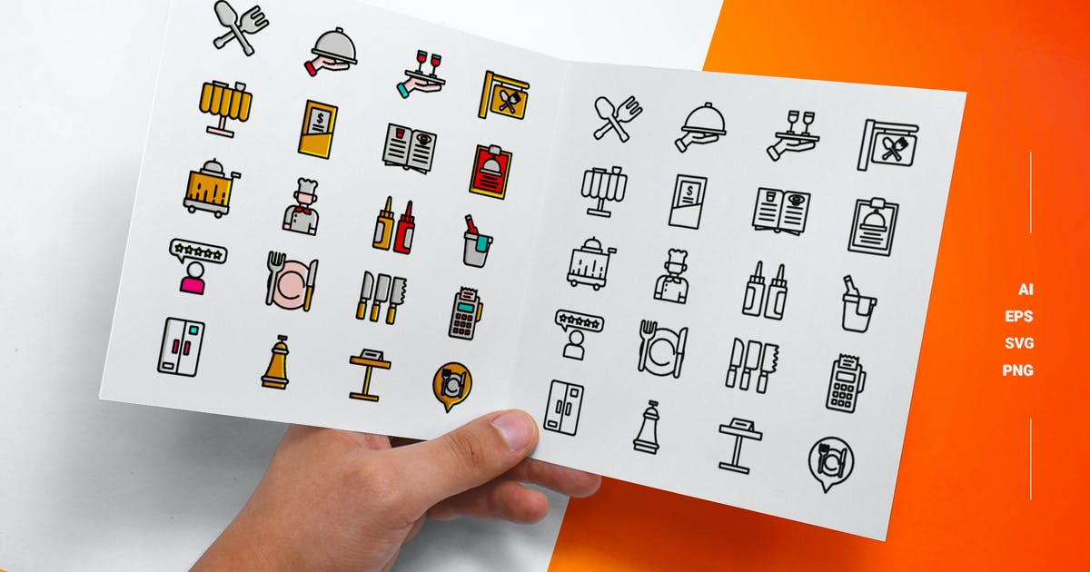 Download Restaurant - Icons by esensifiksi