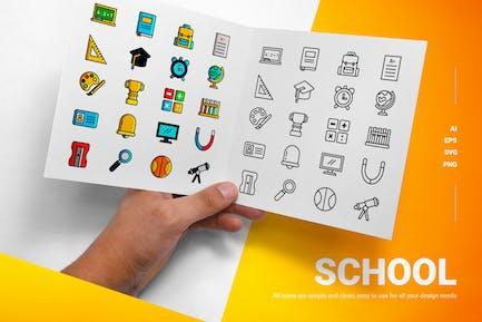 School - Icons