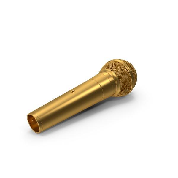 Микрофон Золотой