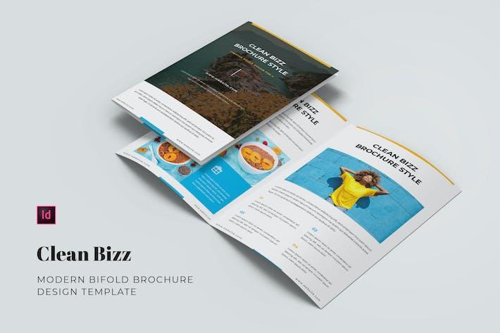 Thumbnail for Clean Bizz Bifold Broschüre
