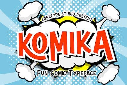 Komika - Tipografía de cómic