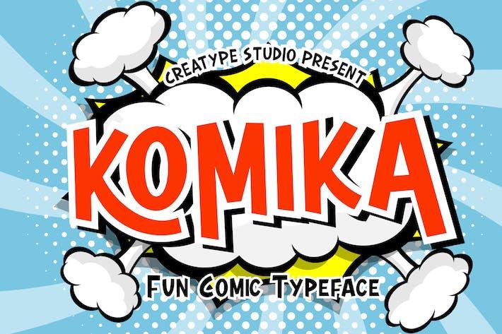 Thumbnail for Komika - Tipografía de cómic