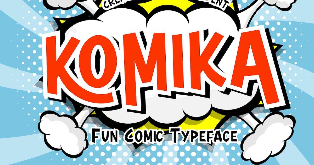Download Komika Fun Comic Typeface by RahardiCreative