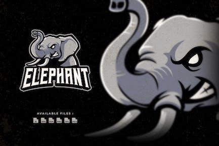 Elephant Sport and Esport Logo